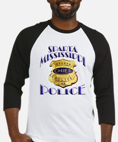 Sparta Police Chief Baseball Jersey