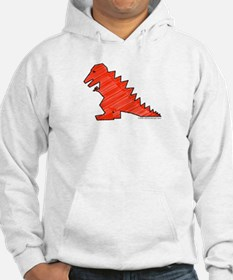 When Tiny Tyranosaurus Ruled! Hoodie
