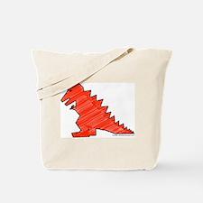 When Tyranosaurus Ruled! Tote Bag