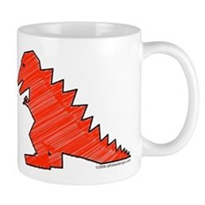 When Tyranosaurus Ruled! Mug