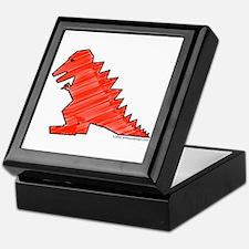 When Tyranosaurus Ruled! Keepsake Box