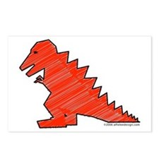 When Tyranosaurus Ruled! Postcards (Package of 8)