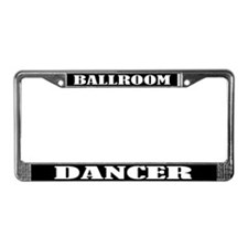 Ballroom Dancer License Plate Frame