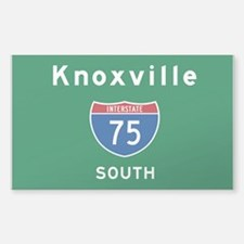 Knoxville 75 Sticker (Rectangle)