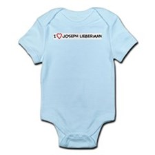 I Love Joseph Lieberman Infant Creeper