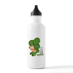 ROLL IN THE CLOVER Water Bottle