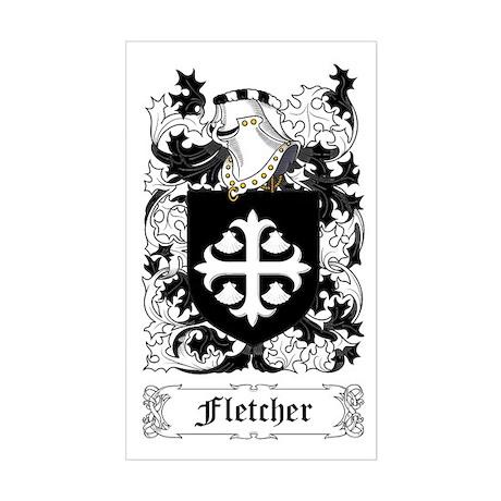 Fletcher Sticker (Rectangle)