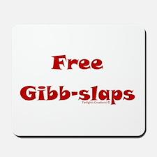 Free Gibb-slaps Mousepad