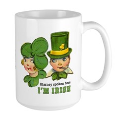 I'M IRISH Large Mug