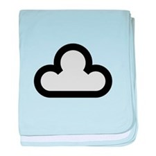 Dark Cloud Symbol baby blanket