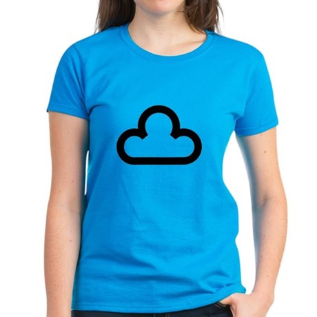 Dark Cloud Symbol Women's Dark T-Shirt