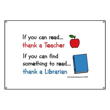 Teacher...Librarian Banner