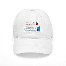 Teacher...Librarian Baseball Cap