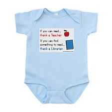 Teacher...Librarian Infant Bodysuit