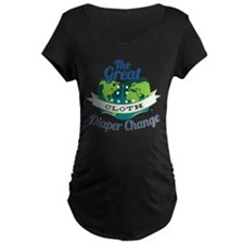 Great Cloth Diaper Change T-Shirt