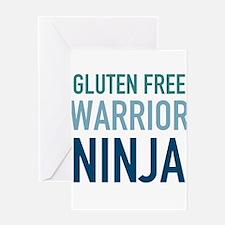 Gluten Free Warrior Ninja Greeting Cards