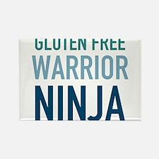 Gluten Free Warrior Ninja Magnets