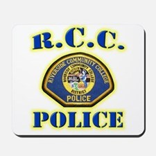 Riverside College Police Mousepad