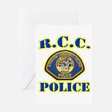 Riverside College Police Greeting Card