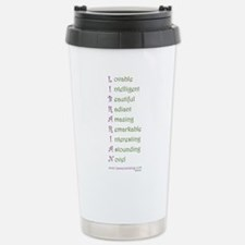 Unique Library Travel Mug
