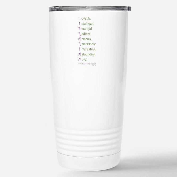 Cute Cataloging Travel Mug