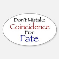 Coincidence/Fate Decal