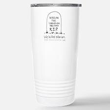 Marian RIP Stainless Steel Travel Mug