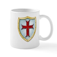 Templar Shield Small Mug