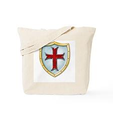 Templar Shield Tote Bag