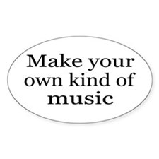 Make Your Own Music Decal
