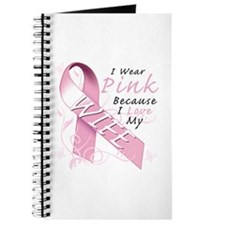 I Wear Pink Because I Love My Wife Journal