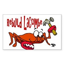 Rebuild Lacombe Rectangle Decal