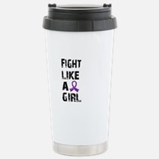 Fight Like A Girl Lupus Stainless Steel Travel Mug