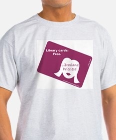 Cool Kiss the librarian T-Shirt