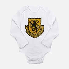 USS CHARLES F. ADAMS Long Sleeve Infant Bodysuit