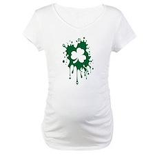 Irish Shamrock Splat Shirt