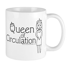 16 Queen of Circulation Mugs