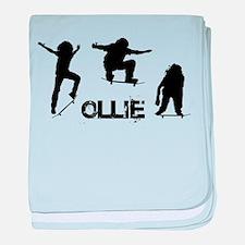 Ollie baby blanket