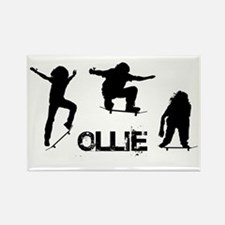 Ollie Rectangle Magnet