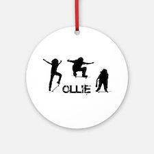 Ollie Ornament (Round)