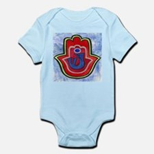 Double Hamsa Shin Infant Creeper