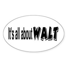 All About Walt Decal