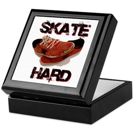 Skate Hard Keepsake Box