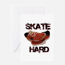 Skate Hard Greeting Card