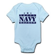 Proud Navy Nephew Infant Bodysuit