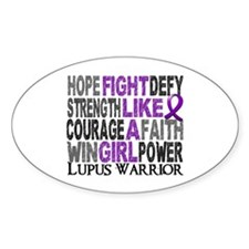 Licensed Fight Like A Girl 23.4 Lup Decal