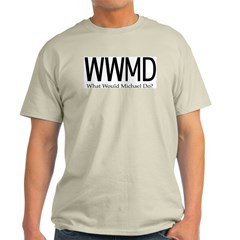 What Would Michael Do Ash Grey T-Shirt