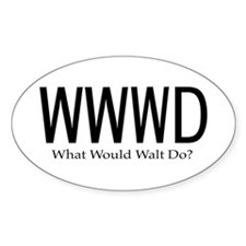 What Would Walt Do Decal