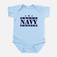 Proud Navy Cousin Infant Bodysuit