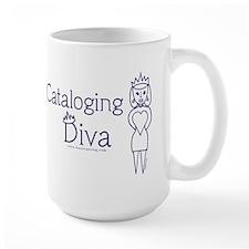 Cataloging Diva Mug